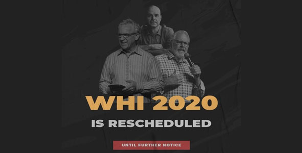 WHI 2020 RESCHEDULED